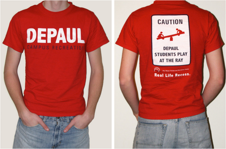 T-shirts – DePaul Campus Recreation